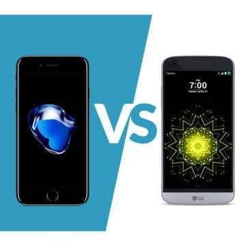 Dual Ponsel Premium, Apple iPhone 7 vs LG G5, Mana yang Jadi Jawara?