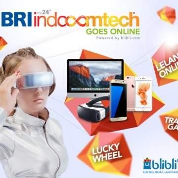 Blibli.com Adakan Lelang Gadget dan Tukar Tambah Ponsel Baru di BRI Indocomtech 2016