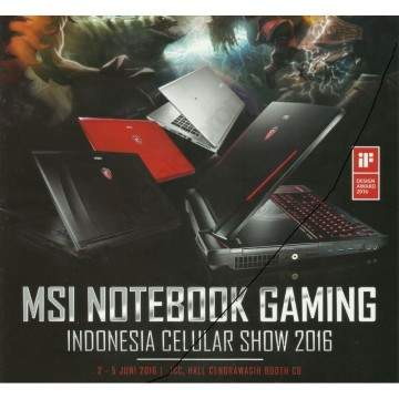 Promo Laptop Gaming MSI di BRI Indocomtech 2016