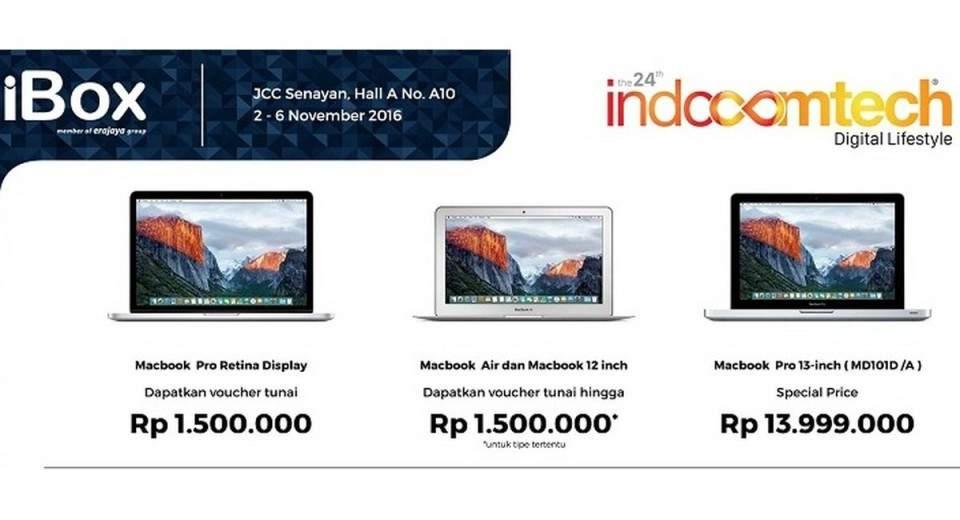 Promo Dan Spesial Price Produk Apple Di Ibox Bri Indocomtech 2016 Pricebook