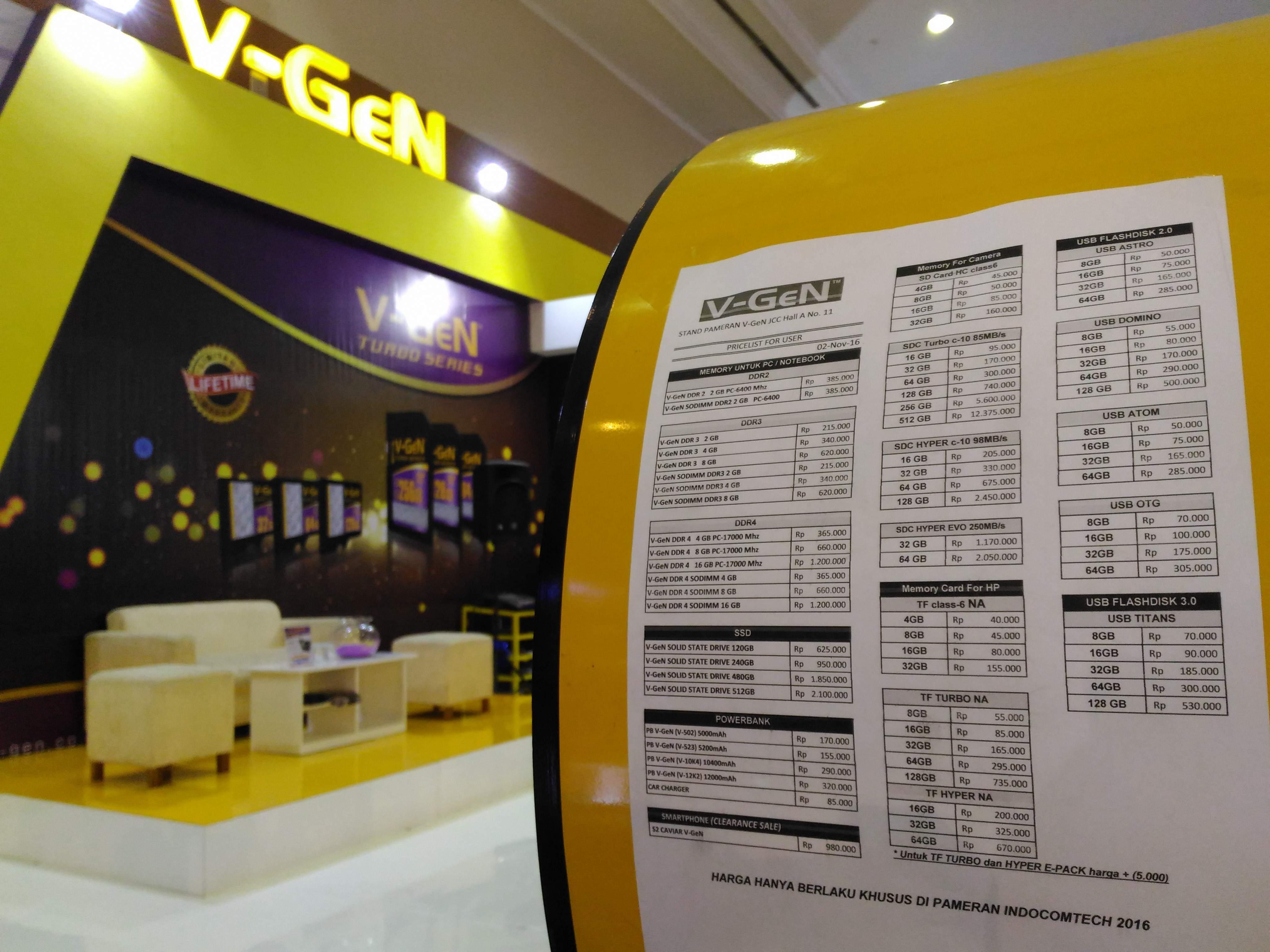 Promo V-gen indocomtech