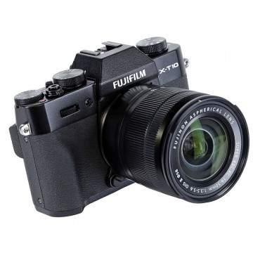Kamera Mirrorless Fujifilm X-T10 kit XF 18-55mm Dibandrol Miring di Lazada Online Revolution