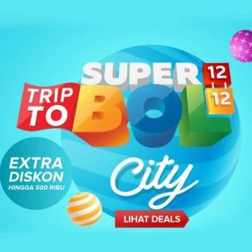 Promo Trip to SUPERBOL dari Mataharimall, Ekstra Diskon Sampai 500 rb!