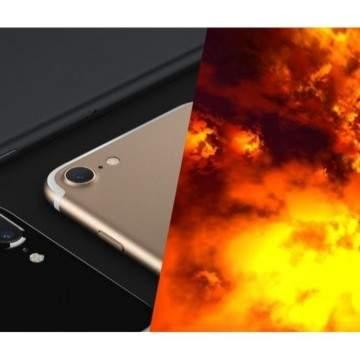 Tangan Seorang Wanita Hamil Terluka Bakar Saat iPhone 7 Meledak