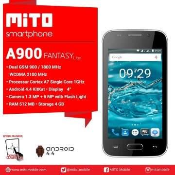Mito A900 Fantasy Lite Dirilis, Ponsel Android Murah untuk Pemula