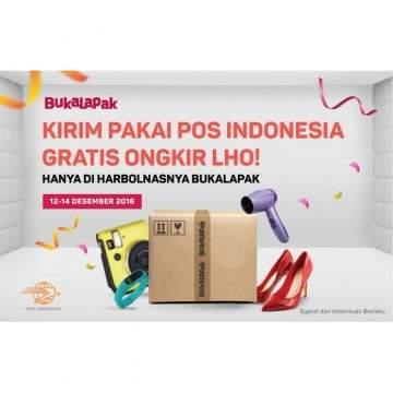 Belanja Harbolnas Gratis Ongkir Pakai Pos Indonesia