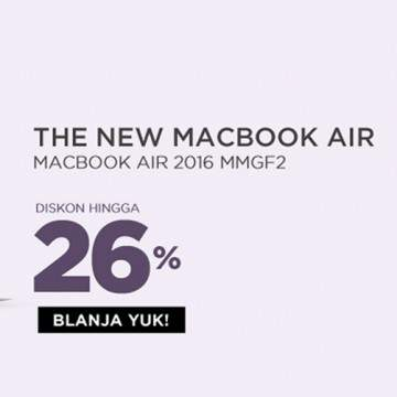 Promo Laptop Apple Macbook Murah di Harbolnas Blanja