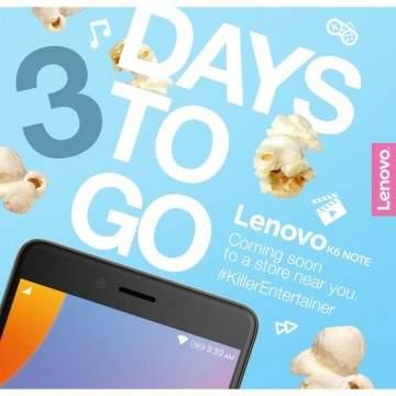 Lenovo K6 Note Siap Dirilis dengan Layar 5,5 inch dan RAM 4GB