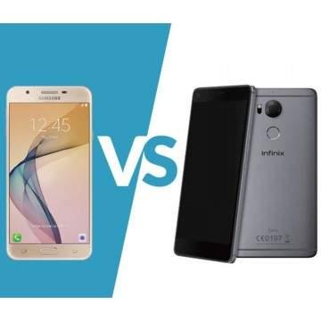 Duel Phablet Premium, Samsung Galaxy J7 Prime VS Infinix Zero 4 plus