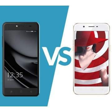 Duel Ponsel Layar HD, Coolpad Fancy 3 VS OPPO A39
