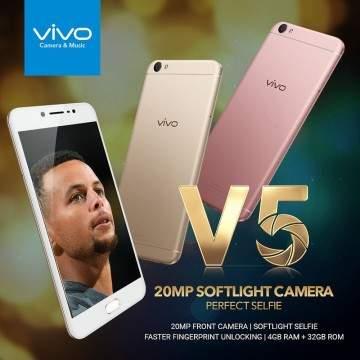 Vivo V5 Plus, Ponsel Selfie Dual Kamera  Dirilis 23 Januari
