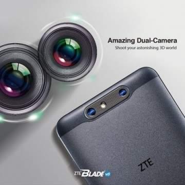 Smartphone ZTE Blade V8 Mejeng di CES 2017 dengan Kemampuan Foto Bokeh dan 3D