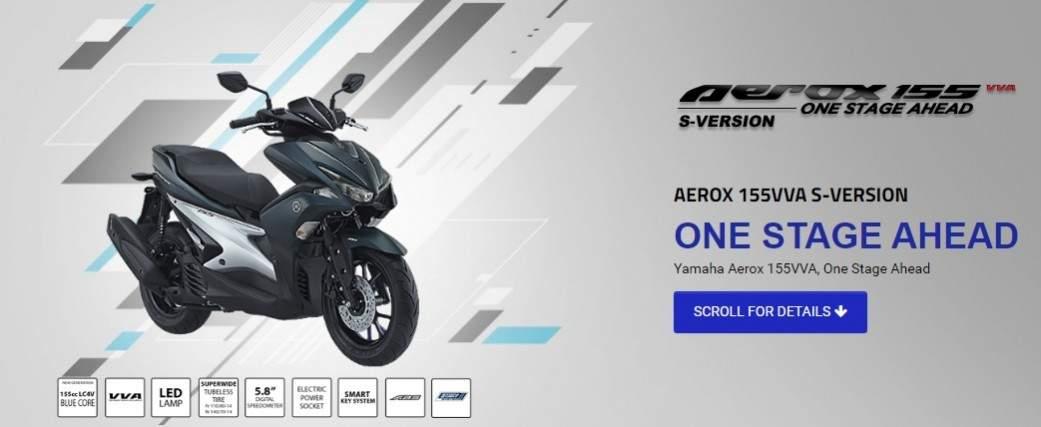 Harga Yamaha Aerox 125 Dan Aerox 155 2018 Gagah Dan Tangguh Di