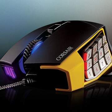 Corsair Scimitar Pro, Mouse Gaming RGB Akurat dengan 12 Tombol