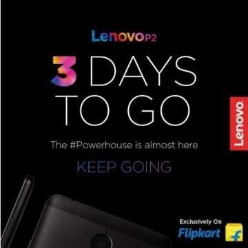 Lenovo P2 Diperkenalkan di India, Andalkan Baterai 5100 mAh