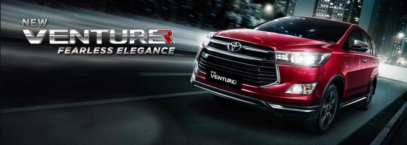 Toyota Resmi Luncurkan Innova Termewah Venturer Di