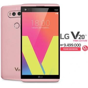 Tawarkan Warna Pink, LG V20 Bisa Kamu Pesan di elevenia Sekarang!