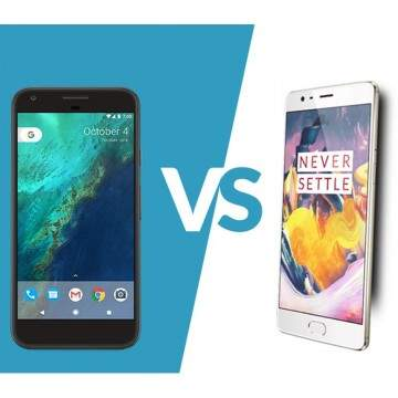 Duel Phablet Android Terbaik, Google Pixel XL vs OnePlus 3T