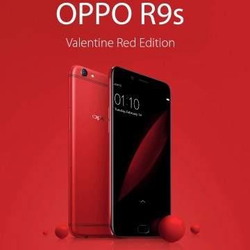 Oppo R9s Versi Valentine Red Dirilis, Bagaimana Penampakannya?