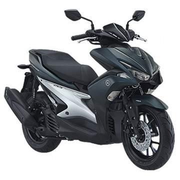 Makin Gagah, Berapa Harga Yamaha Aerox 125 dan Yamaha Aerox 155?