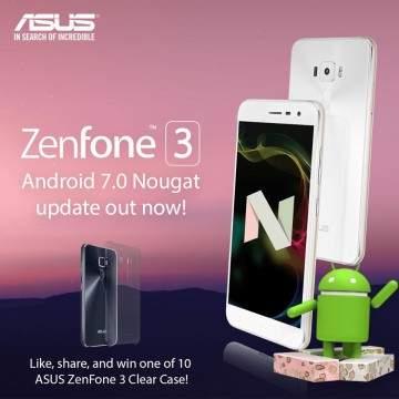 Cara Update Android Nougat di ASUS Zenfone 3 dan Fitur yang Dibawanya