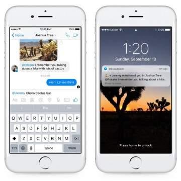 Facebook Rilis Fitur Reactions dan Mentions di Facebook Messenger
