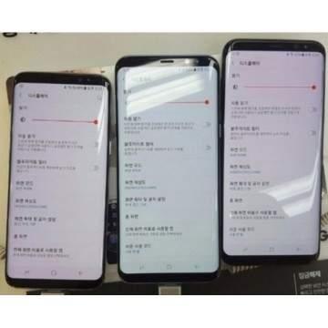 Muncul Bercak Merah Pada Layar Samsung Galaxy S8 dan S8+ di Korea