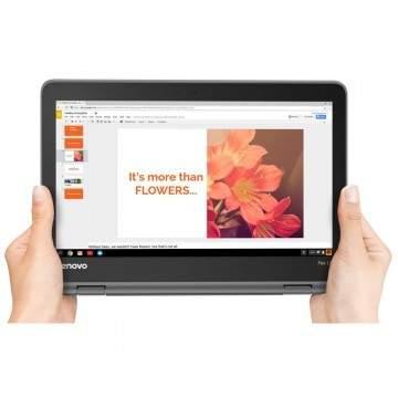 Layar Bisa Dilipat, Laptop Lenovo Chromebook Flex 11 Hanya Rp3 Jutaan
