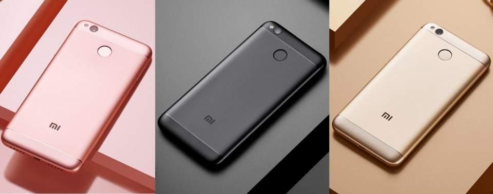 Perbandingan Spesifikasi dan Harga Hape Xiaomi Redmi 4A, 4X, Redmi 4 Prime