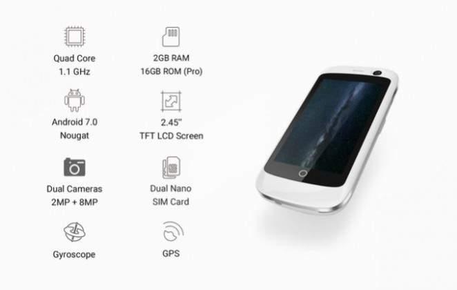 Jelly Ponsel Android 4g Nougat Terkecil Di Dunia Pricebook