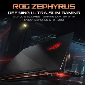 ASUS ROG Zephyrus, Laptop Gaming Desain Fashionable