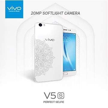 Hape Vivo V5s Semakin Elegan dengan Warna 'Pure White'
