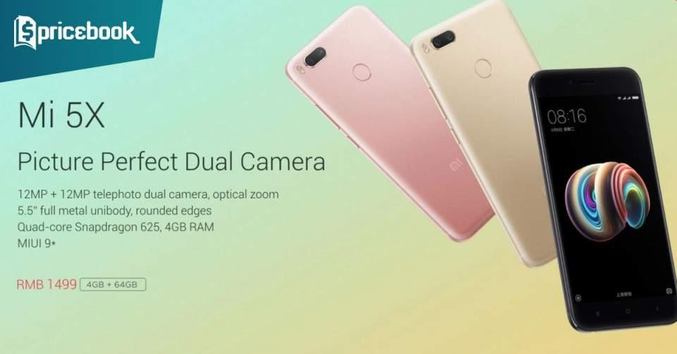 Harga Xiaomi Mi5X Dibanderol Rp3 Juta Siap Ulang Sukses