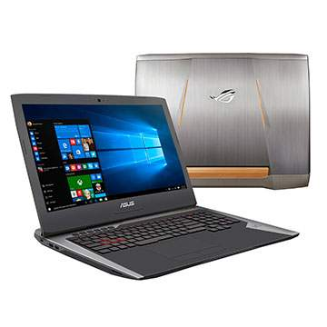 Laptop Gaming ASUS ROG G752VSK Pakai Intel Core i7 Generasi Terbaru