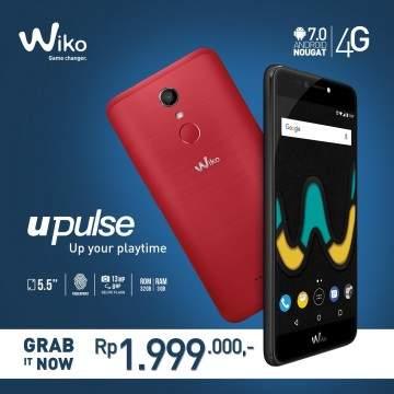 Hp RAM 3GB Terbaru Wiko UPulse, Pakai Nougat dan Sudah 4G