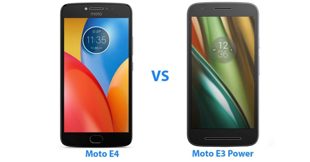 moto e4 vs moto e3 power