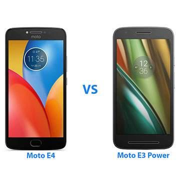 Hp Motorola Moto E4 vs Moto E3 Power, Apa yang Berbeda?