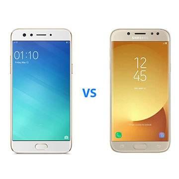 Hp Kamera Terbaik Rp3 Jutaan, Oppo F3 vs Samsung Galaxy J7 Pro