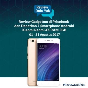 Ini Pemenang Event #ReviewDuluYuk Pricebook Bulan Juli 2017