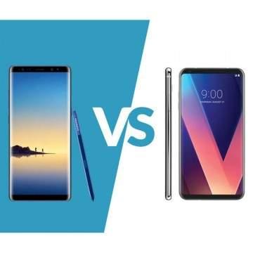 Samsung Galaxy Note8 vs LG V30, Dua Flagship Layar Besar