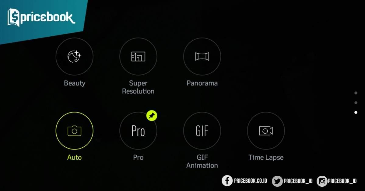 Kamera Asus zenfone 4 max pro