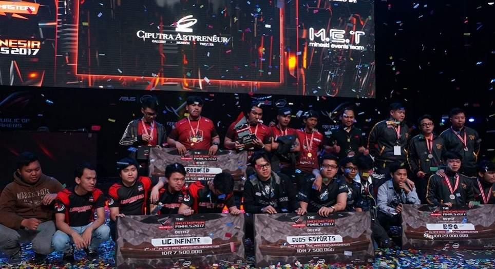 Asus rog master indonesia 2017