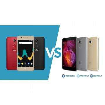 Xiaomi Redmi Note 4 VS Wiko UPulse, Duel Hp Rp2 Jutaan Terbaik