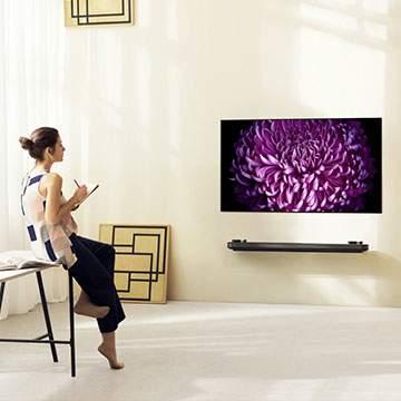 Mengatur Letak TV di Dinding dan Tinggi Ideal  TV dari Lantai