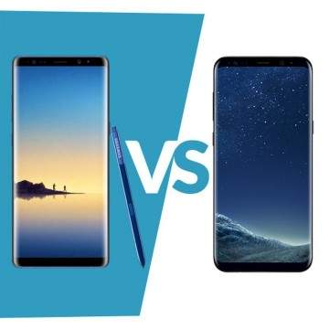 Duel Flagship Terbaik: Samsung Galaxy Note 8 VS Samsung Galaxy S8+