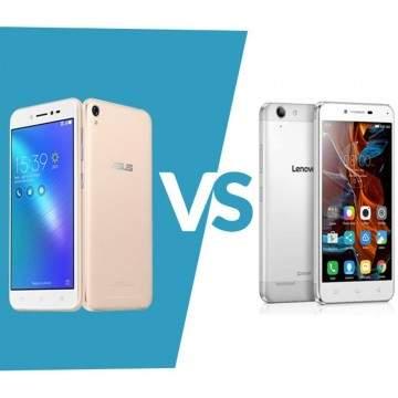 ASUS ZenFone Live VS Lenovo K5 Plus, Adu Hp 5 Inch Bandrol Rp1,6 Jutaan