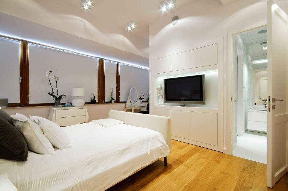 Desain Kamar Tidur Minimalis Ukuran 5x4  ukuran tv yang ideal untuk aneka ruangan pricebook