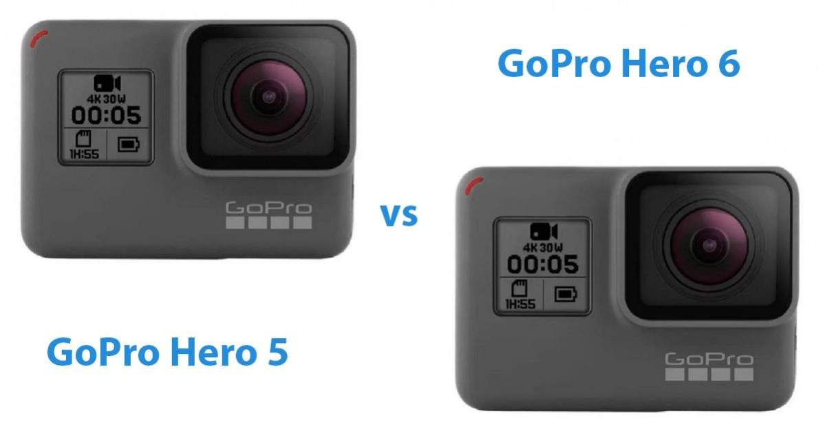 Gopro Hero 5 vs gopro hero 6