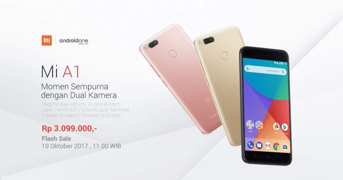 Jangan Lewatkan Flash Sale Xiaomi Mi A1 Android One di ...