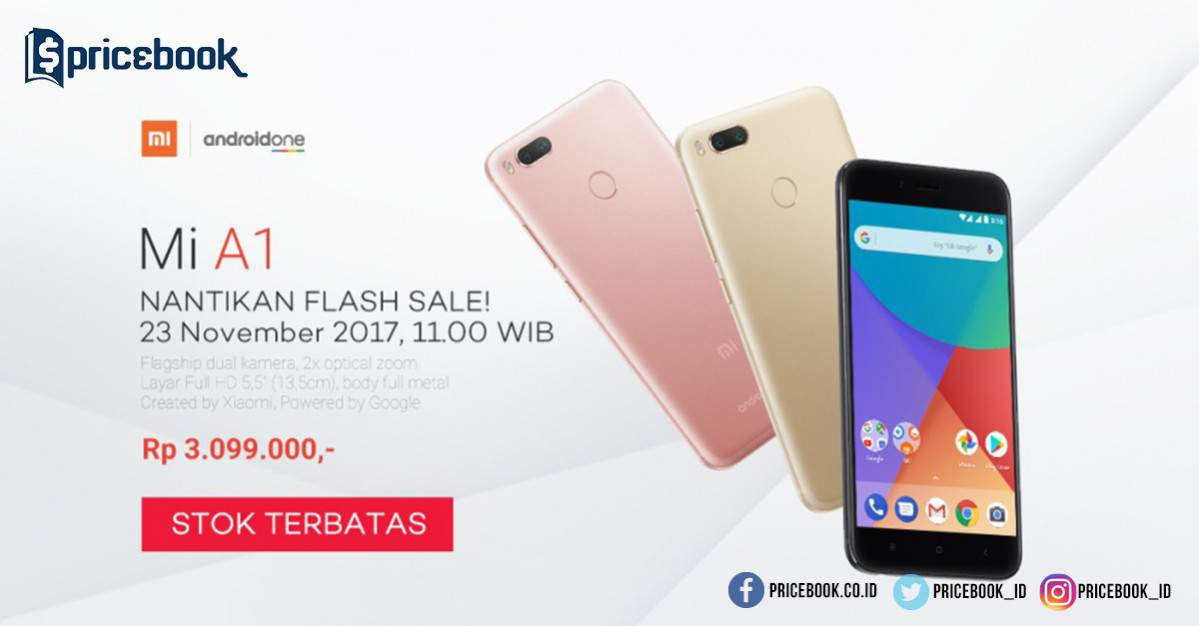 Flash sale Xiaomi Mi A1 Lazada